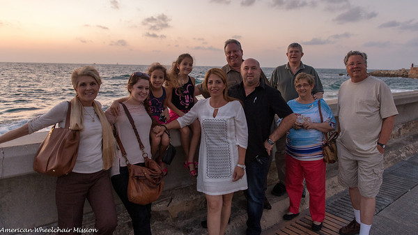 Dinner with Guy's Family and Tour of Jaffa