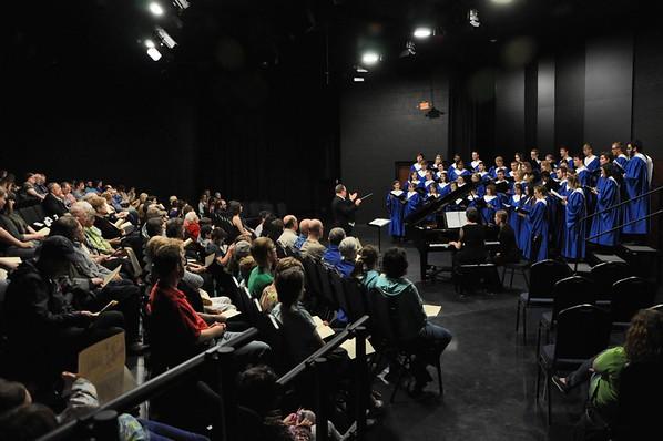 Concert Choir Spring Works April 25th
