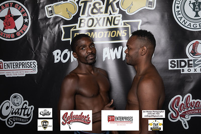 Weigh-in Face-off