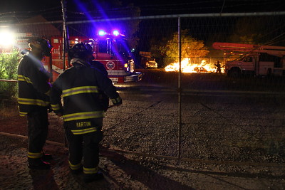 Rio Grande Outside Fire
