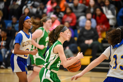 02/27 - Geneseo 8th Girls Basketball vs Glenview