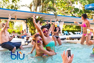 Jaco Blu Sunday Pool Party - 31/03/14