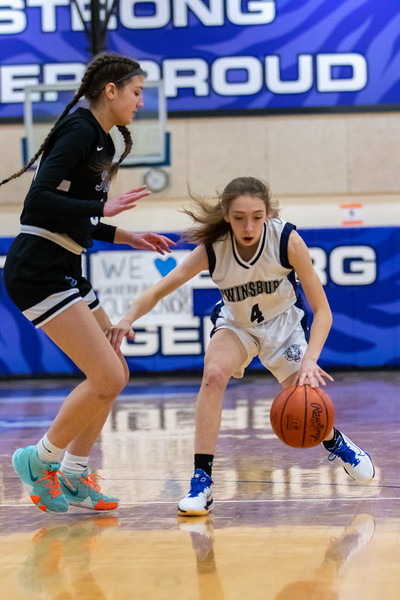 2021-01-20 -- Twinsburg vs Revere High School Girls Junior Varsity Basketball