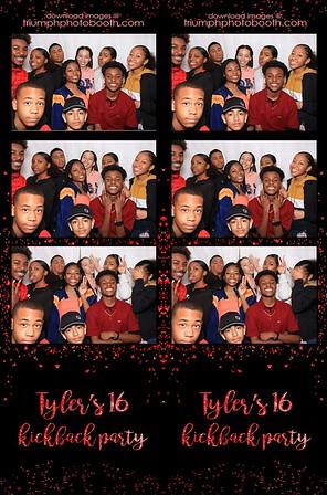 3/7/20 - Tyler's 16 Kickback Party
