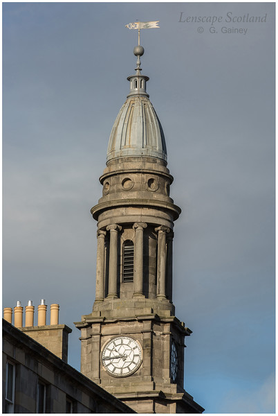 Queen's Hall, South Clerk Street - tower detail