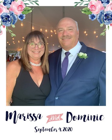 Marissa and Dominic September 4, 2020