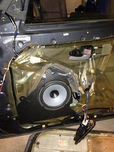 1996 Lexus GS300 Front Door Speaker Installation - Australia