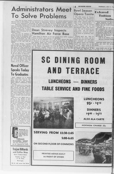 Summer News, Vol. 10, No. 6, July 07, 1955