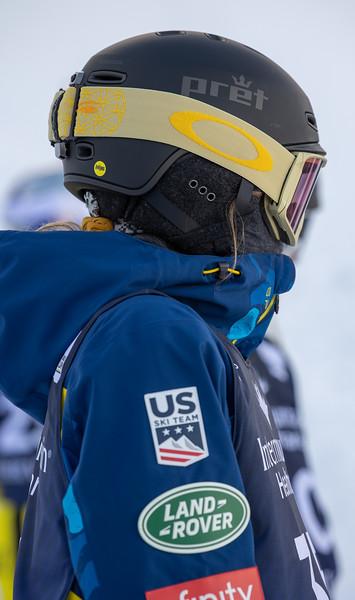 2021 FIS FREESTYLE WORLD CUP DV - MOGULS TRAINING