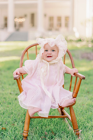 Lucy Hart, 9 months