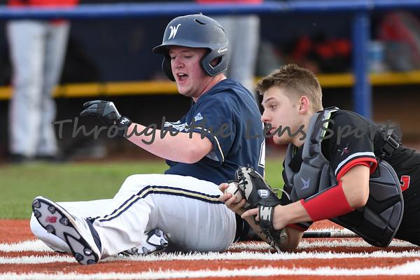 West Albany vs. South Albany HS Baseball