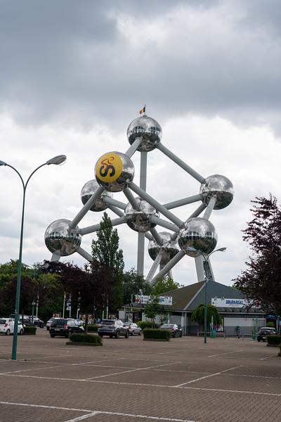 Atomium Brussels, Belgium - 2019