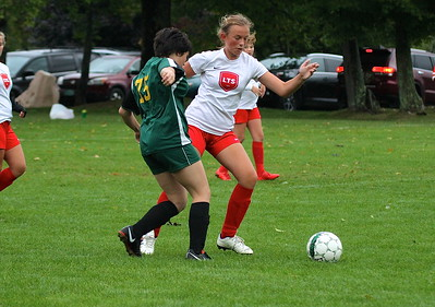 LTS M.S. Girls Soccer vs WR photos by Gary Baker