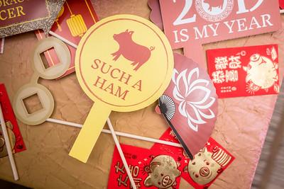 2019-02-08 New Year Pig @ Singapore Embassy