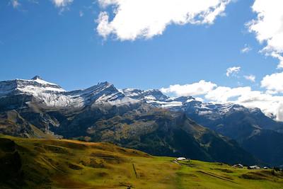 Mountain in autumn / Montagne en automne