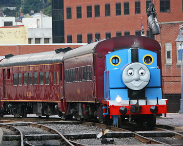 Thomas the Tank Engine in Cumberland, Maryland