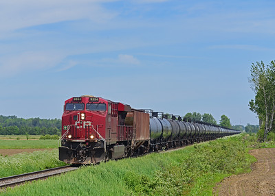 Canadian Pacific 650, Lacolle, Quebec, June 10 2019.
