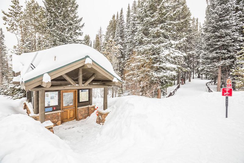 Bear Lake ranger station.