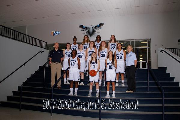 2018 Girls Basketball Varsity
