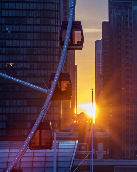 Ferris Wheel at Chicago Henge