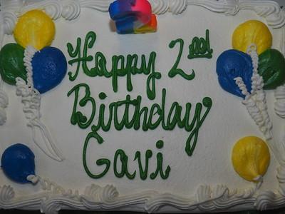 Gavi's Birthday 2016