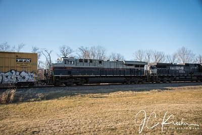 Norfolk Southern - 14R w/ Pennsylvania & CoG HUs - 03/01/2020