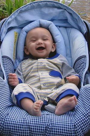 Peyton. Four Months Old.