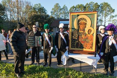 Our Lady of Czestochowa (Black Madonna) Icon Visit