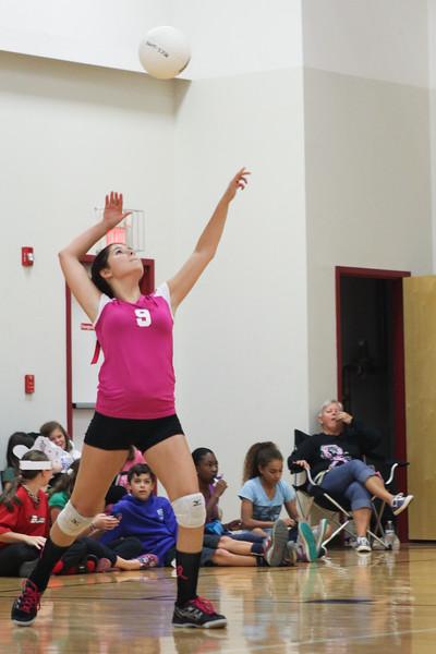 MICS Volleyball Oct 2013