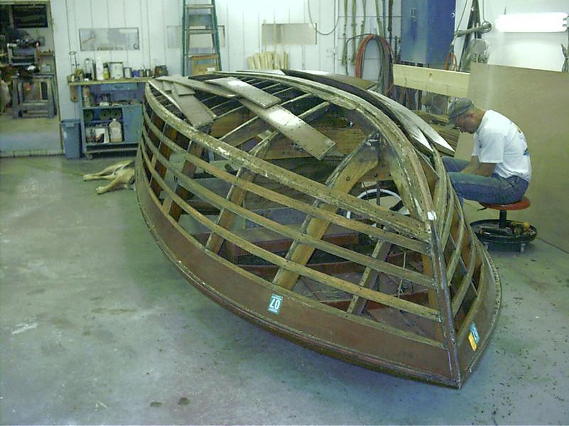 removing side planks