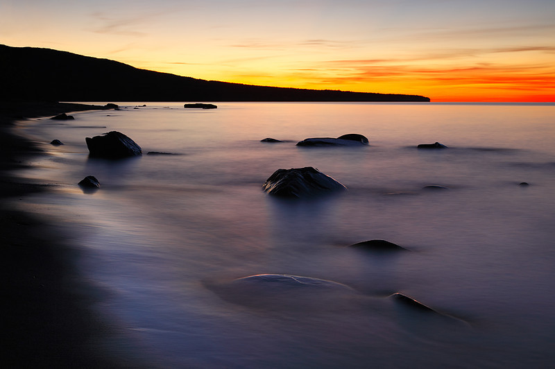 Rockwashed - Union Bay (Porcupine Mountains State Park)