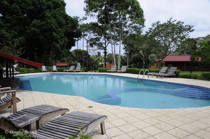 Cano Negro: The lodge pool