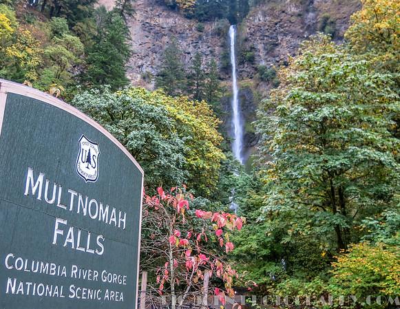 Columbia River Gorge Oregon Fall 2015
