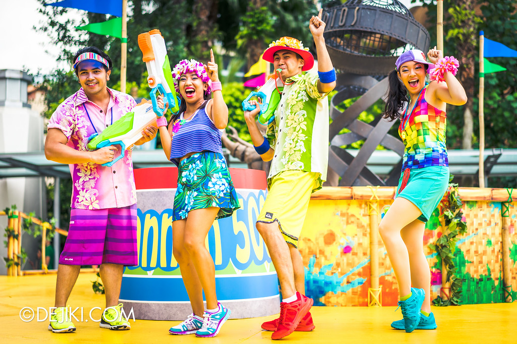 Universal Studios Singapore - Park Update May 2016 / Universal Studios Singapore Soak Out - Dancers 4