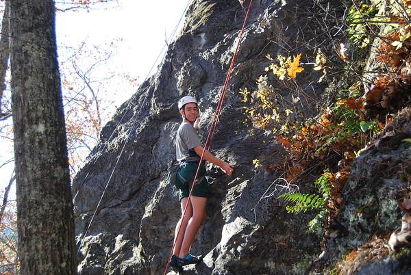 Rock Climbing with Mr. Kenny: November 4, 2015