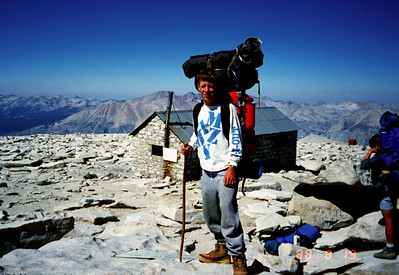 8/13/1988 ~ 8/19/1988 - Mnt. Whitney Hike