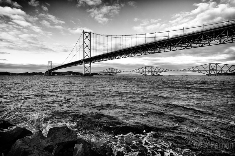 Forth Bridges Scotland