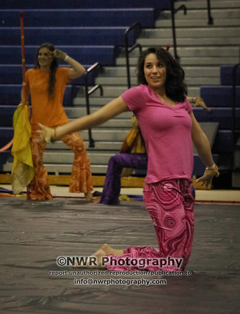 Chantilly HS Indoor Color Guard