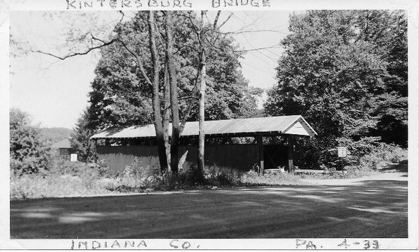 Historic  Photo of Kintersburg Bridge