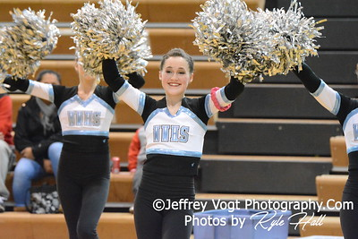 1-30-2016 Walt Whitman HS Varsity Poms at Damascus HS, Photos by Jeffrey Vogt Photography with Kyle Hall