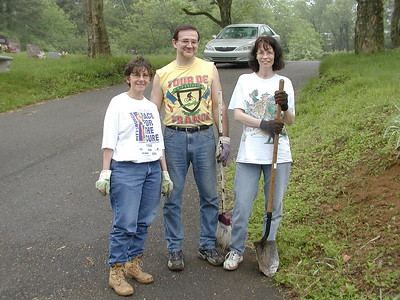 Community Life - Cemetery Cleanup - May 15, 2004