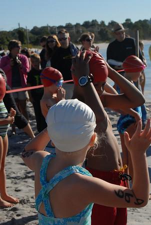 Mighty Kids Triathlon 2012 SWIM