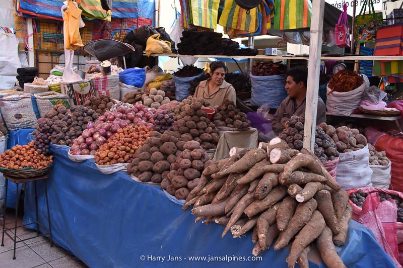various potatoes