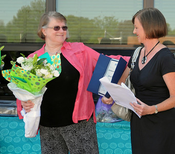 Fiene honored for 41 years