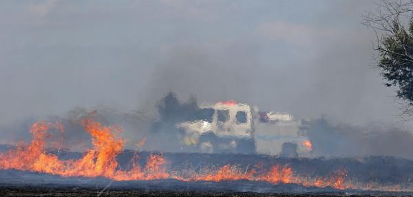 McKinney TX. Erwin Park grass fire. 3/20/18