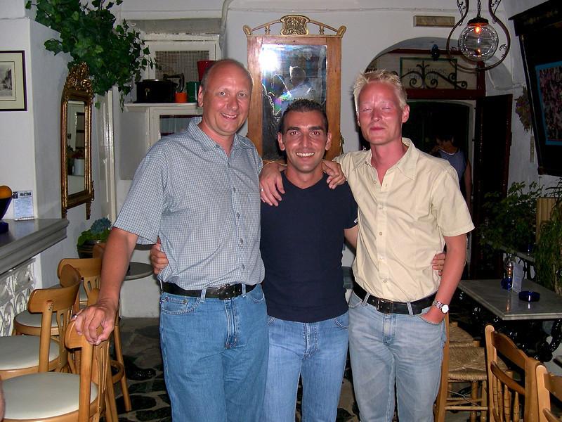 Frank, Yiannis and Søren