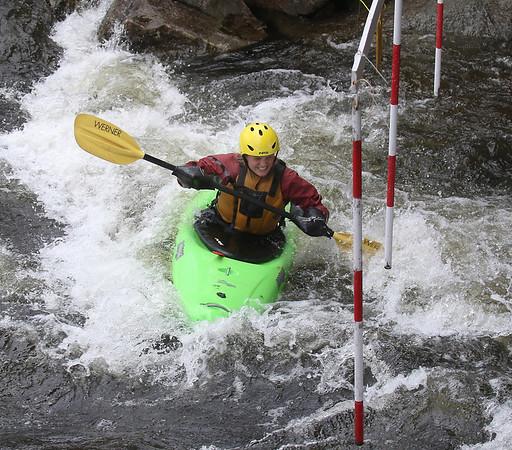 Kayaking, The Mascoma Slalom