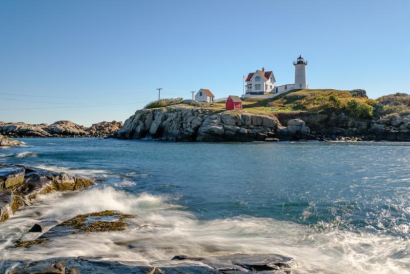 Early Morning at Nubble (Cape Neddick) Lighthouse, York, Maine