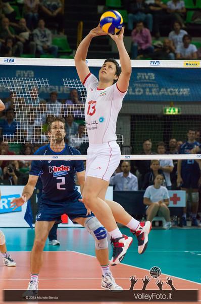 Mehdi Mahdavi [IRI] - Italia-Iran, World League 2013 - Modena
