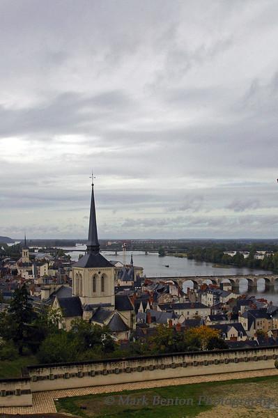 VIllage of Saumur, Loire Valley, France